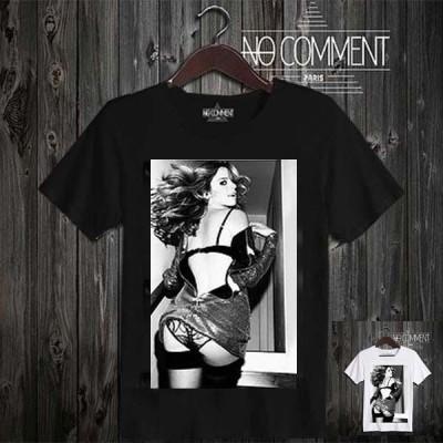 Tシャツ 半袖 トップス メンズ 大きいサイズ ノーコメントパリ NO COMMENT PARIS  rock Natacha