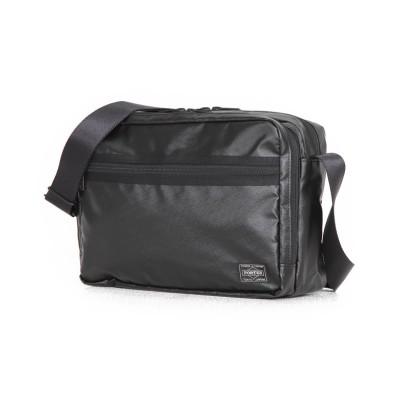 【カバンのセレクション】 吉田カバン ポーター タクティカル ショルダーバッグ メンズ 防水 PORTER 654-07072 ユニセックス ブラック 在庫 Bag&Luggage SELECTION