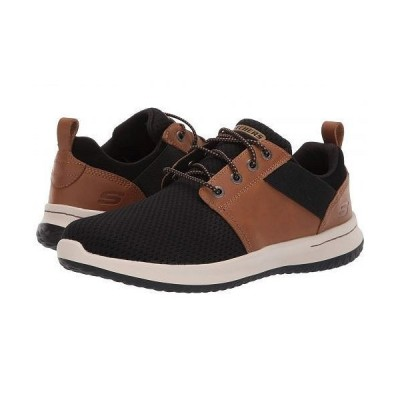 SKECHERS スケッチャーズ メンズ 男性用 シューズ 靴 スニーカー 運動靴 Delson - Brant - Brown/Black