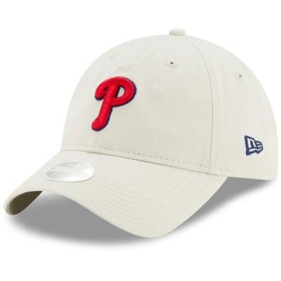 レディース スポーツリーグ メジャーリーグ Philadelphia Phillies New Era Women's Stone Core Classic 9TWENTY Adjustable Hat - Khaki -