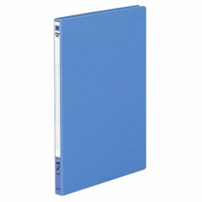 コクヨ レターファイル 右天とじ A4タテ 120枚収容 背幅20mm 青 1セット(10冊)