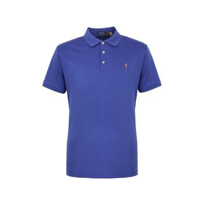 POLO RALPH LAUREN ポロシャツ ブライトブルー XL コットン 100% ポロシャツ