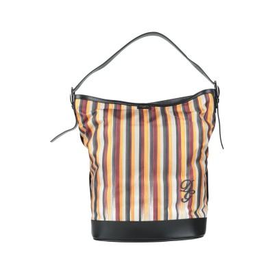ドルチェ & ガッバーナ DOLCE & GABBANA ハンドバッグ オレンジ 紡績繊維 / 牛革(カーフ) ハンドバッグ
