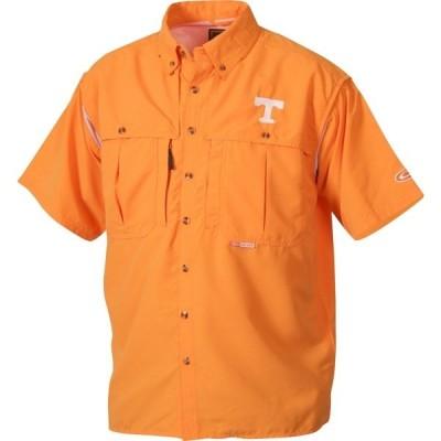 ドレークウォータフォール シャツ トップス メンズ Drake Waterfowl Men's University of Tennessee Wingshooter's Shirt Orange