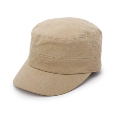 SHOO・LA・RUE / 機能付きデニムワークキャップ WOMEN 帽子 > キャップ