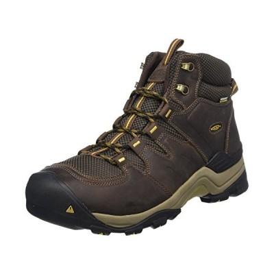 KEEN Men's Gypsum II Mid Waterproof Shoe, Coffee Bean/Bronze Mist, 11 M US