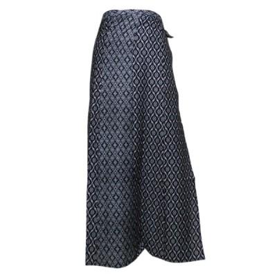 スカート アジアン衣料 ネパール・ラップスカート14 クリックポスト選択 送料200円