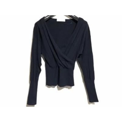 セルフォード CELFORD 長袖セーター サイズ36 S レディース - ダークネイビー【中古】20201127