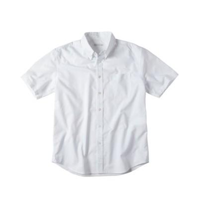 形態安定オックスフォードボタンダウン半袖シャツ(肩まわり・お腹ゆったり)(消臭テープ付) カジュアルシャツ, Shirts,