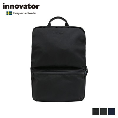 innovator イノベーター リュック バッグ バックパック メンズ 15.9L 撥水 BACK PACK ブラック グレー ネイビー 黒 INB-001