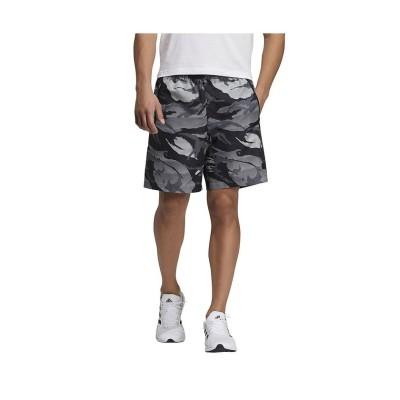 【販売主:スポーツオーソリティ】 アディダス/メンズ/ウーブン カモ ショーツ / Woven Camo Shorts メンズ グレーツー/ホワイト S SPORTS AUTHORITY