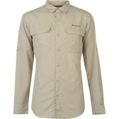 コロンビア Columbia メンズ シャツ トップス Ridge Long Sleeved Shirt Fossil