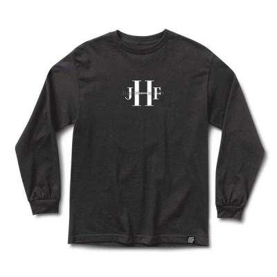 "JHF(ジェイエイチエフ) ロンT ""Stoned Wash L/S T-SHIRTS"" カラー Washed Black"