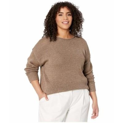 ラルフローレン ニット&セーター アウター レディース Plus Size Cotton-Blend Sweater Gold