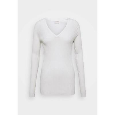 バイマレンバーガー ニット&セーター レディース アウター DINAH - Jumper - soft white