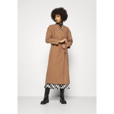 インウェア コート レディース アウター ZAHRA COAT - Classic coat - camel