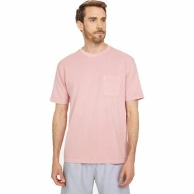 スコッチandソーダ Scotch and Soda メンズ Tシャツ トップス Organic Cotton Garment-Dyed Pique Crew Neck T-Shirt Wild Pink