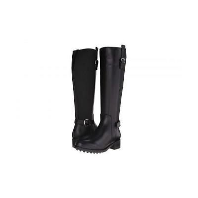La Canadienne ラカナディアン レディース 女性用 シューズ 靴 ブーツ ロングブーツ Sefora - Black Leather