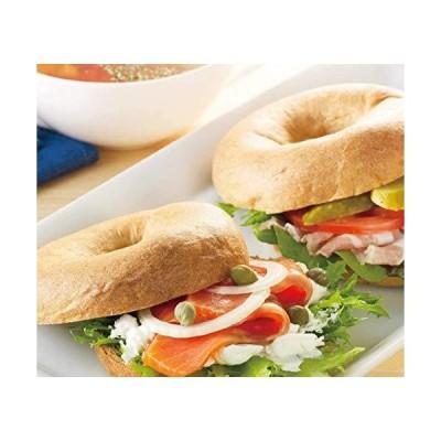ベーグル 糖質 低糖質パン プレーン 1袋8個入り 糖質オフ 糖質制限 低糖パン 低糖質パン 100gあたり糖質4.8g 低糖?