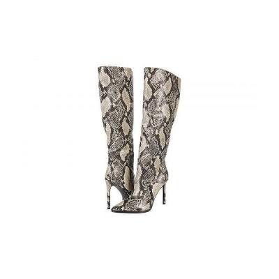 Steve Madden スティーブマデン レディース 女性用 シューズ 靴 ブーツ ロングブーツ Olga Over-the-Knee Boot - Natural Snake
