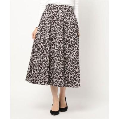 スカート レオパード柄スカート