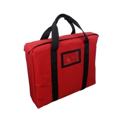 Fireproof Briefcase Style Bag Lockable (Red)【並行輸入品】