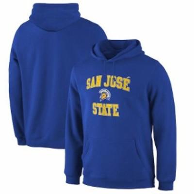 Fanatics Branded ファナティクス ブランド スポーツ用品  Fanatics Branded San Jose State Spartans Royal Campus Pullover Hoodie