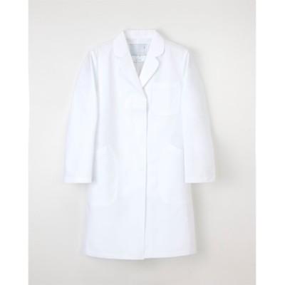 ナガイレーベン EM-3035 女子シングル診察衣(女性用) ナースウェア・白衣・介護ウェア