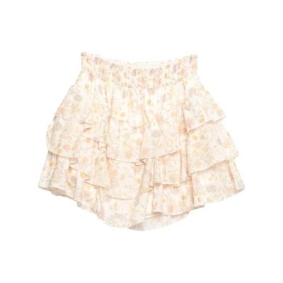 スーベニア SOUVENIR ミニスカート アイボリー S コットン 100% ミニスカート