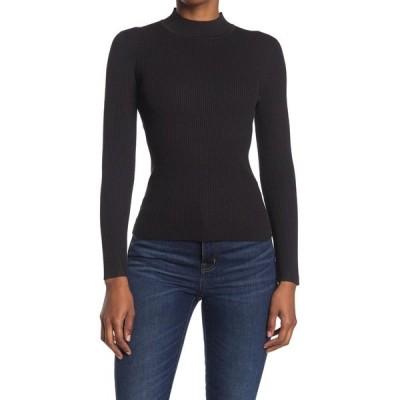 ジョーズジーンズ レディース ニット&セーター アウター Mock Neck Knit Sweater BLACK