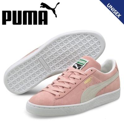 PUMA プーマ スウェード クラシック スニーカー メンズ レディース スエード SUEDE CLASSIC 21 ピンク 374915-11