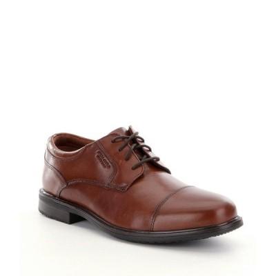 ロックポート メンズ ドレスシューズ シューズ Men's Essential Details II Waterproof Cap Toe Shoes Tan Antique