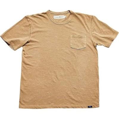 ノーマルブランド メンズ Tシャツ トップス The Normal Brand Vintage Men's Slub Short Sleeve Pocket T