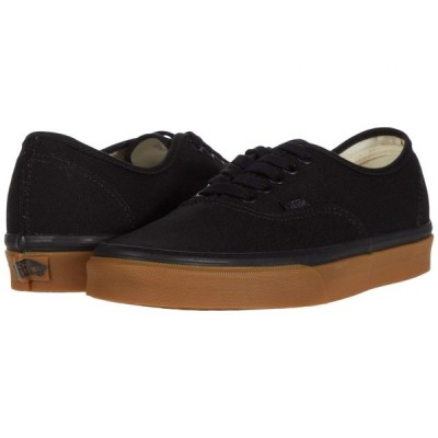 ヴァンズ Vans レディース スニーカー シューズ・靴 Authentic(TM) 12 oz Canvas) Black/Gum