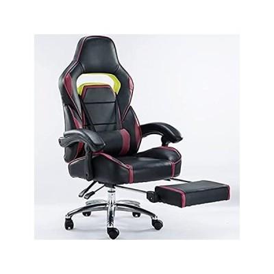 【並行輸入品】Computer Chair, Computer Desk Chair Leather Office Gaming Chair Home Intern