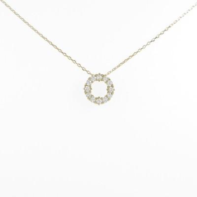 【リメイク】K18YG ダイヤモンドネックレス