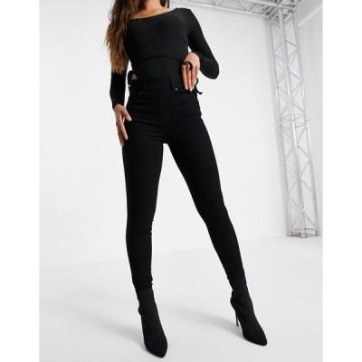 スパンク レディース デニムパンツ ボトムス Spanx skinny jeans in black Black skinny