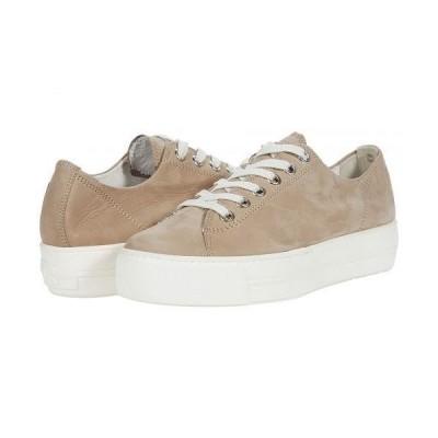 Paul Green ポールグリーン レディース 女性用 シューズ 靴 スニーカー 運動靴 Bixby Sneaker - Antelope Nubuck