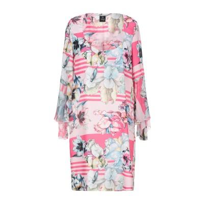 LAFTY LIE ミニワンピース&ドレス ピンク 42 ポリアクリル 100% ミニワンピース&ドレス