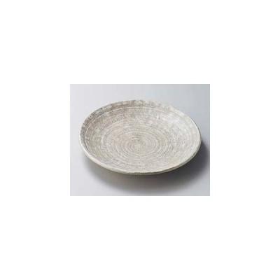 和食器 イ204-247 草月手捻4.0皿