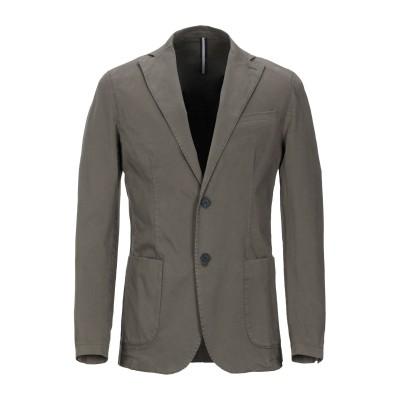 ARMATA DI MARE テーラードジャケット ミリタリーグリーン 46 コットン 97% / ポリウレタン 3% テーラードジャケット