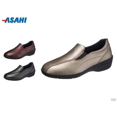 アサヒスニーカー L520 メタリック スリッポン スニーカー レディース 靴