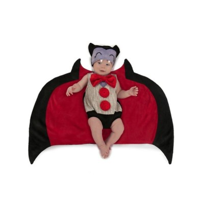 吸血鬼 コスプレ 赤ちゃん 大きな翼 記念写真 インスタ映え ベビー ドラキュラ
