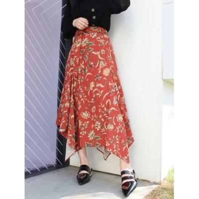 【ムルーア/MURUA】 アメリアフラワースカート