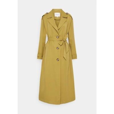 レディース ファッション ONLLINE X-LONG - Trenchcoat - ecru olive