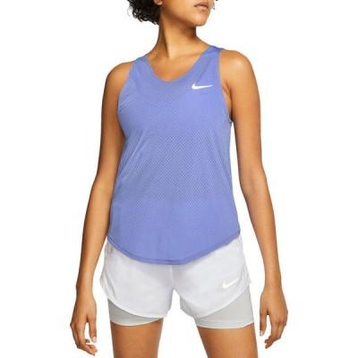 ナイキ シャツ トップス レディース Nike Women's Miler Breathe Tank Top Sapphire