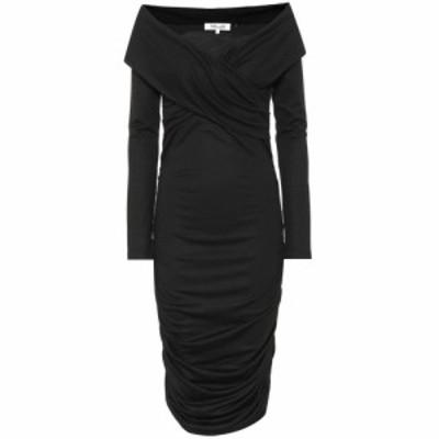 ダイアン フォン ファステンバーグ Diane von Furstenberg レディース ワンピース ミドル丈 ワンピース・ドレス Wool-blend midi dress b