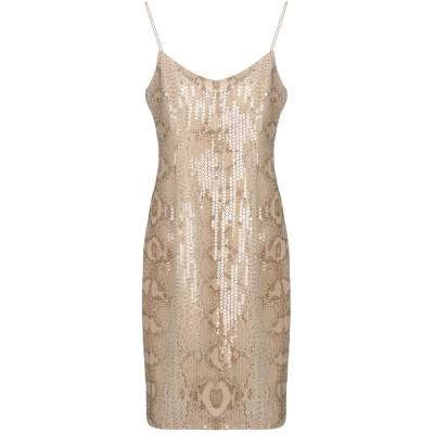 MIKAEL AGHAL ミニワンピース&ドレス ベージュ 4 ポリエステル 100% ミニワンピース&ドレス