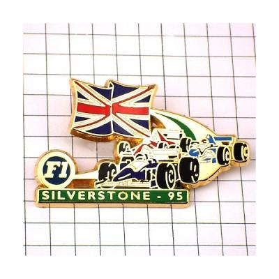 ピンズ・シルバーストーンF1サーキット英国イギリス国旗