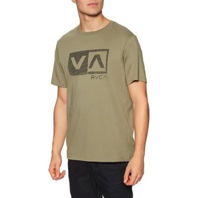 ルーカ RVCA メンズ Tシャツ トップス balance box short sleeve t-shirt Cactus